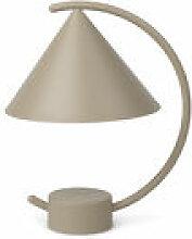 Lampe sans fil Meridian LED / Métal - H 26 cm -
