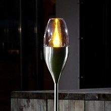 Lampe Solaire 'Jari' (Moderne) en Gris en