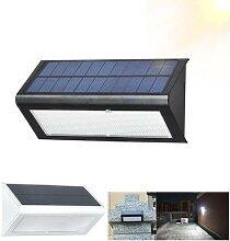 Lampe solaire 48LED avec détecteur de mouvement,