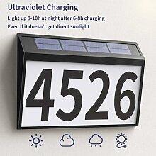 Lampe solaire à 10 LED, imperméable, éclairage