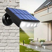 Lampe solaire d'extérieur étanche avec