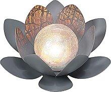 Lampe solaire de pelouse de jardin de boule de