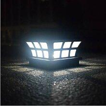 Lampe solaire de poteau extérieur Ip65 Étanche