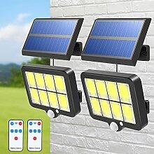 Lampe Solaire Detecteur de Mouvement T-SUN 160 LED