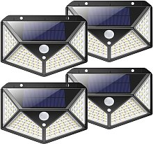 Lampe Solaire Extérieur 100 led 2200mA