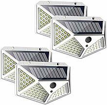 Lampe Solaire Extérieur 100 LED, Eclairage