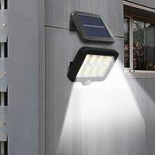 Lampe Solaire Extérieur 2400mAh Détecteur de