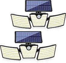 Lampe Solaire Extérieur, 265 LED Lumière Solaire
