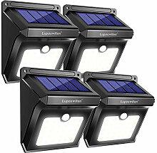 Lampe Solaire Extérieur 28 LED Etanche Détecteur