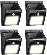 Lampe Solaire Exterieur - 30 LED Eclairage Solaire