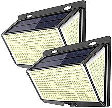 Lampe Solaire Extérieur, 468 LED Lumière Solaire