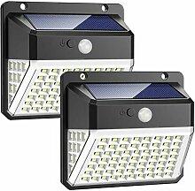 Lampe Solaire Extérieur, 82 LED Lumière Solaire