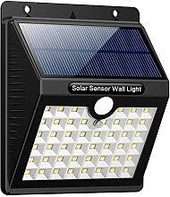 Lampe Solaire Extérieur, iPosible 46 LED Lumière