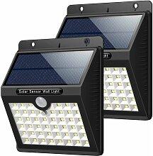 Lampe Solaire Extérieur Jardin, 46 LED éclairage