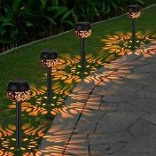 Lampe Solaire Exterieur Jardin Décoration4pcs