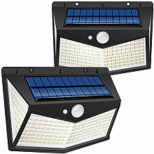 Lampe Solaire Extérieur Swonuk 2 Pack 212 LED