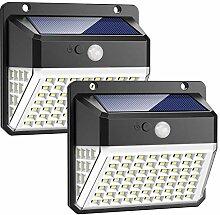 Lampe Solaire Extérieur, Trswyop 82 LED Lumière