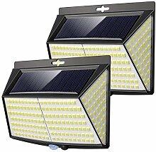 Lampe Solaire Extérieur,Vighep 228 LED [ 2 Packs]