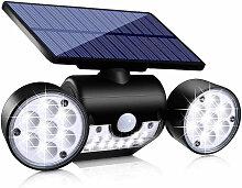 Lampe solaire extérieure avec détecteur de