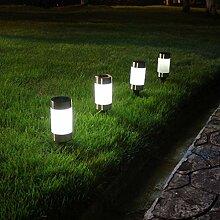 Lampe Solaire Exterieure Jardin au Sol Luminaires