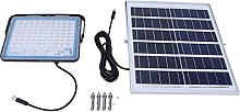 Lampe solaire, lampadaire de qualité IP66 pour