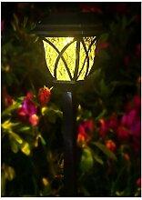 Lampe Solaire, Lampadaire Solaire Carré, Lampe