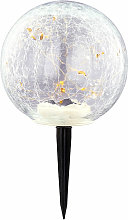 Lampe solaire plug-in à LED Ball Spotlight