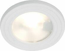Lampe spot encastrable design salle de bain
