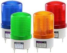 Lampe stroboscopique rotative, alarme, sirène,