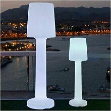 Lampe sur pied 110cm extérieur lumière blanche
