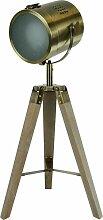 Lampe sur trépied mini 'Bogart' 48cm |