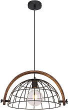 Lampe suspendue à cage DIMMABLE salon