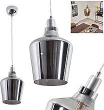 Lampe suspendue Batouna - En métal argenté -