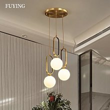 Lampe suspendue circulaire en forme de boule de