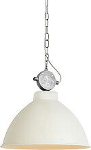 Lampe suspendue Country blanche - Anterio 38