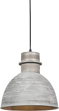 Lampe suspendue Country gris - Dory