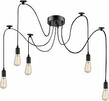 Lampe suspendue design plafonnier lampe noire