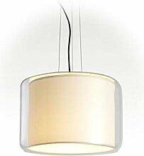 Lampe Suspendue E14 FBA 18 W avec Abat-Jour en
