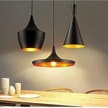 Lampe suspendue en aluminium de créateur,