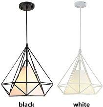 Lampe suspendue en fer au design minimaliste