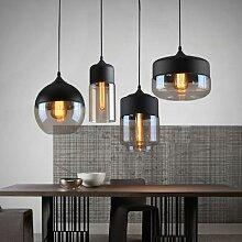 Lampe suspendue en verre au design contemporain