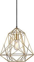 Lampe suspendue industrielle or - Framework Basic