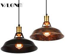 Lampe suspendue industrielle Vintage, luminaires