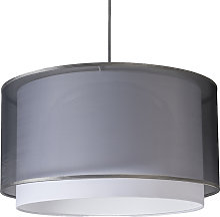 Lampe suspendue moderne avec abat-jour noir /