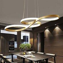 Lampe suspendue nordique moderne pour salle à