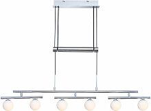 Lampe suspendue salon éclairage plafond pendule