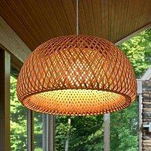 Lampe suspendue vintage de style rustique