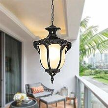 Lampe suspendue vintage lanterne imperméable