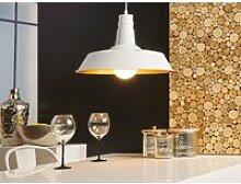 Lampe suspension blanc bayou 45561