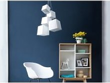 Lampe suspension blanc mesta 13193